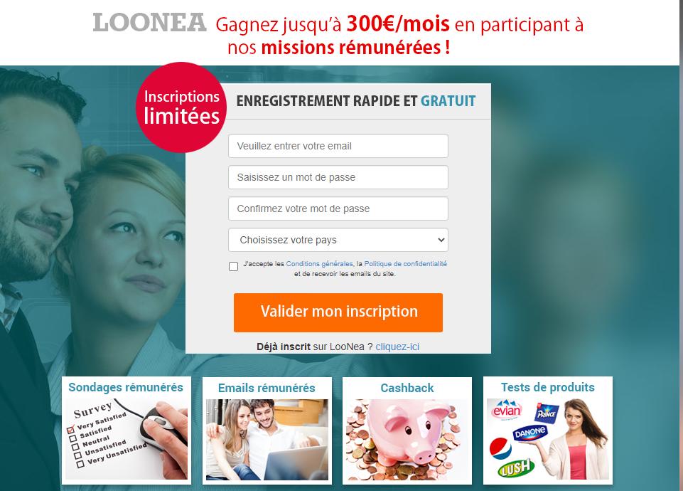 Un complément de salaire à domicile pour avoir plus d'argent grâce à Loonea
